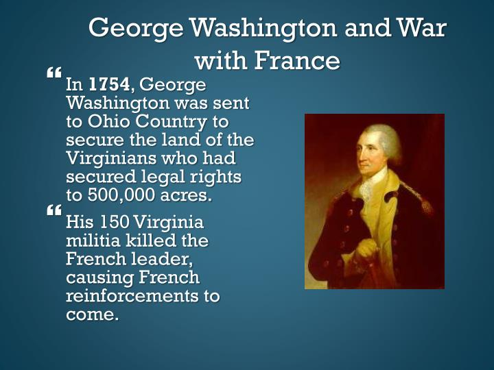George Washington and War with France