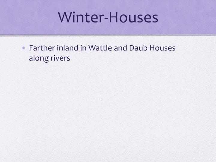 Winter-Houses
