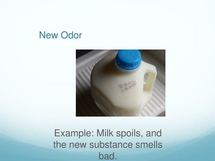 New Odor