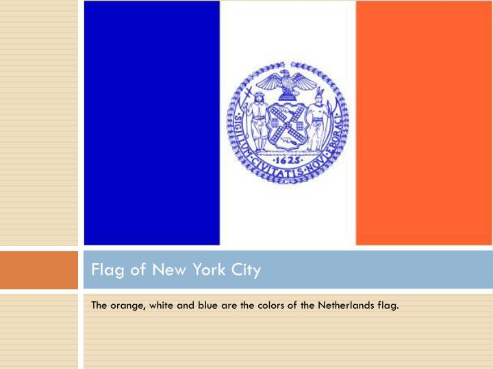 Flag of New York City