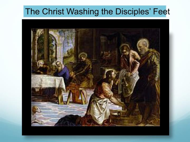 The Christ Washing the Disciples' Feet