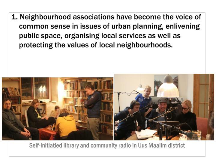 1. Neighbourhood