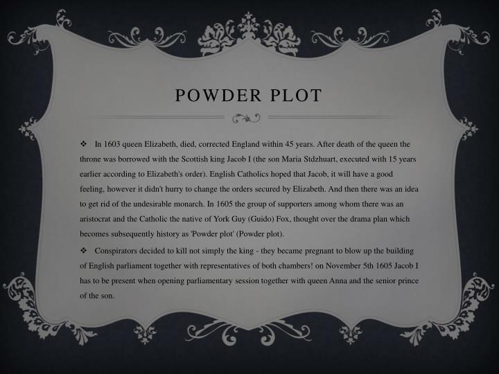 Powder plot