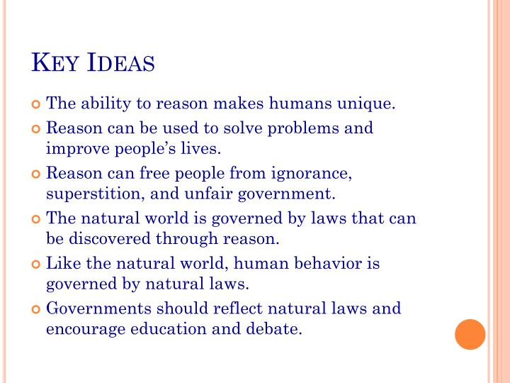 Key Ideas