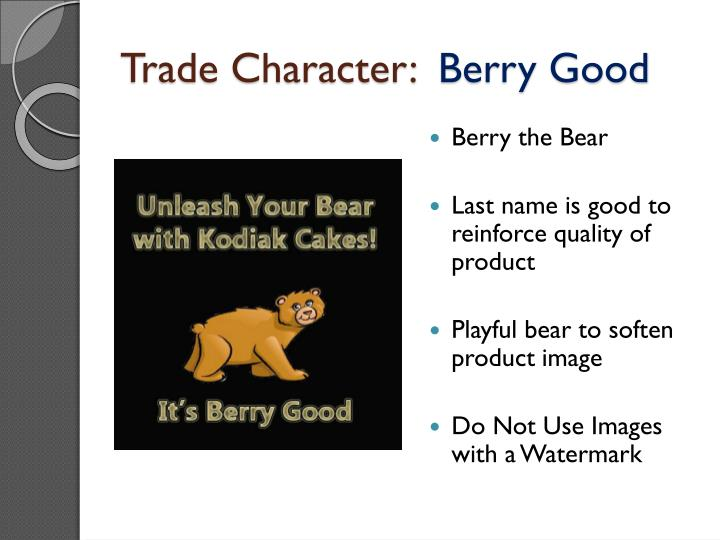 Trade Character:
