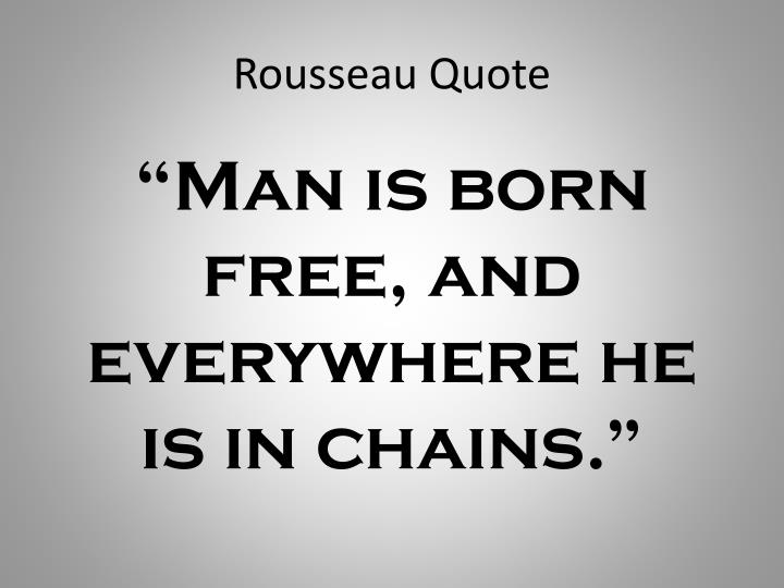 Rousseau Quote