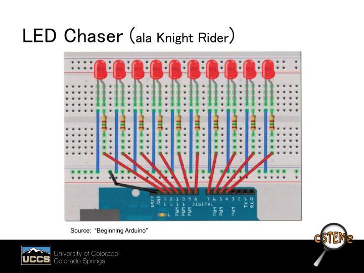 LED Chaser (
