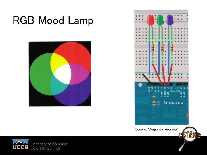 RGB Mood Lamp