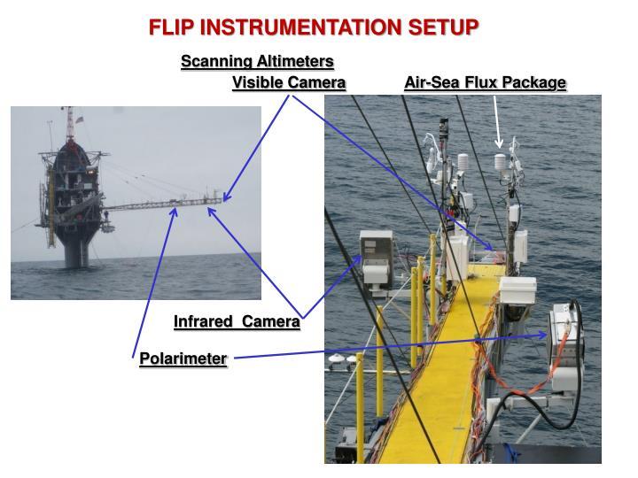 FLIP INSTRUMENTATION SETUP