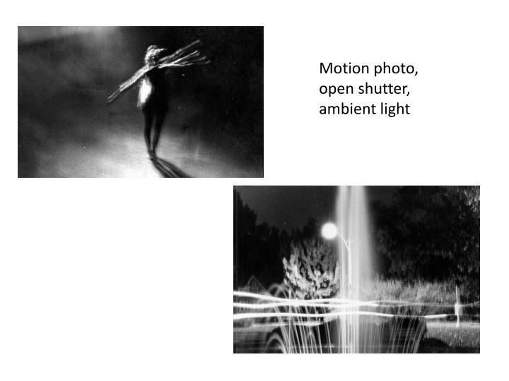 Motion photo,