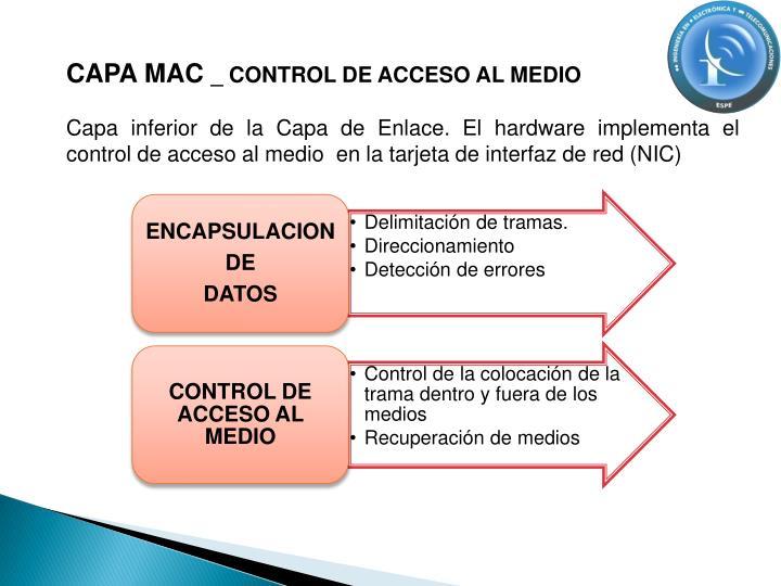 CAPA MAC