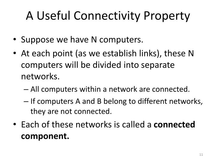 A Useful Connectivity Property