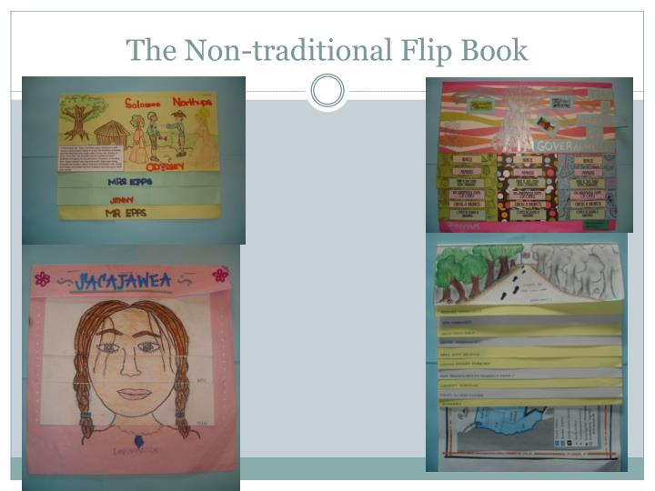 The Non-traditional Flip Book