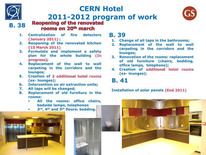 CERN Hotel
