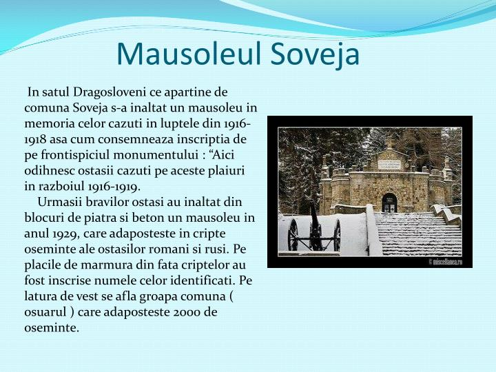 Mausoleul Soveja