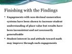 finishing with the findings1