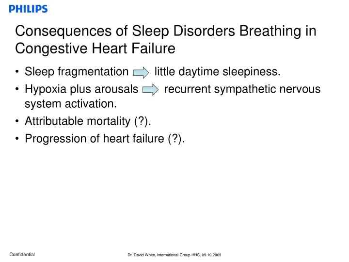 Consequences of Sleep Disorders Breathing in