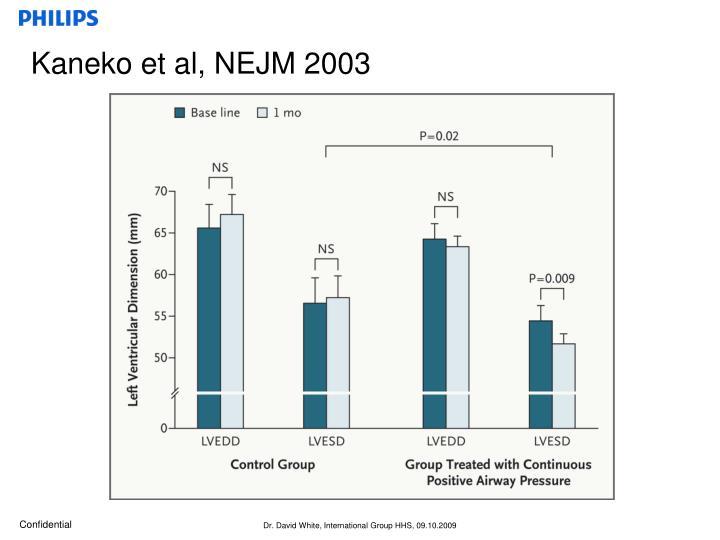 Kaneko et al, NEJM 2003