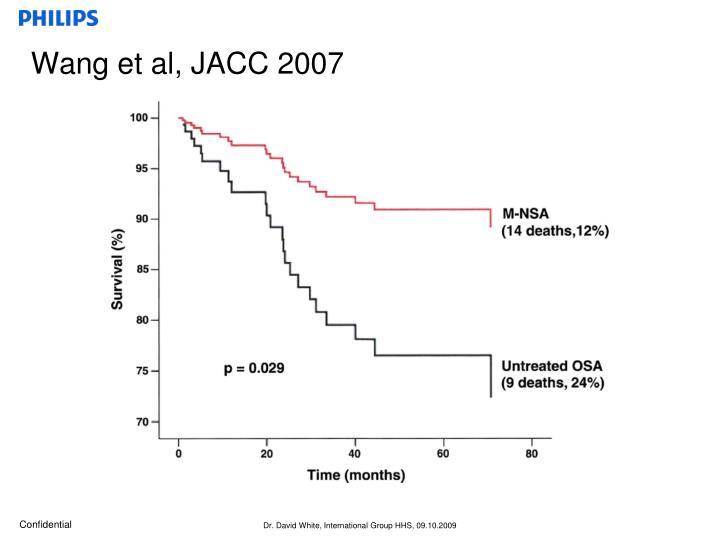 Wang et al, JACC 2007