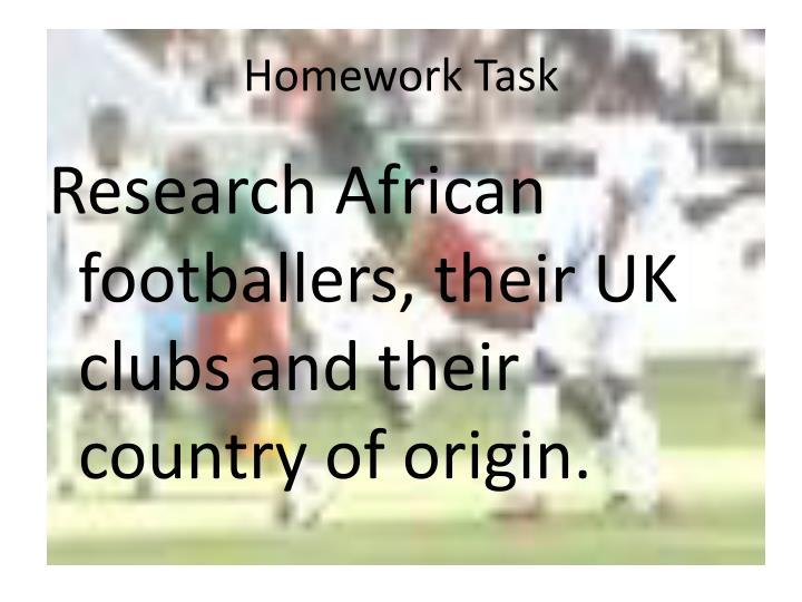Homework Task