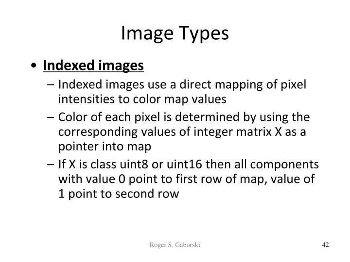 Image Types