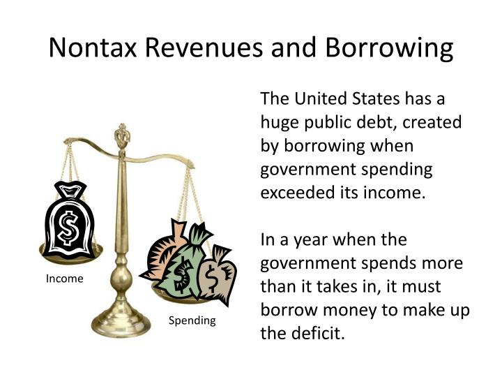 Nontax Revenues and Borrowing