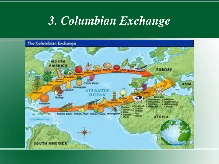 3 columbian exchange