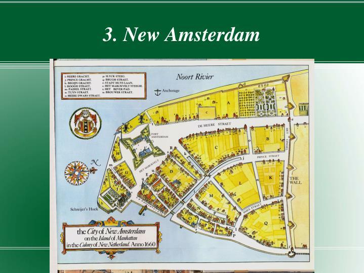 3. New Amsterdam