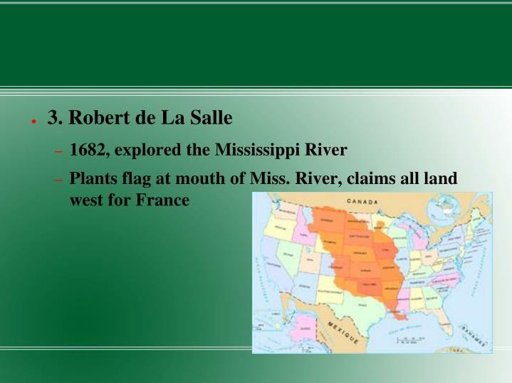 3. Robert de La Salle