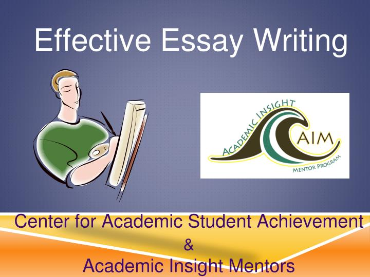 Write my academic achievement essay