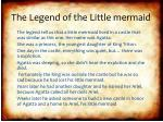 the legend of the little mermaid