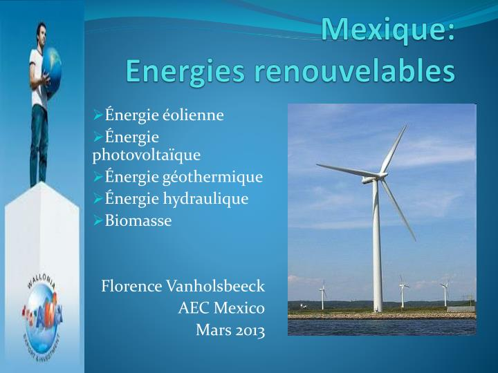 Mexique energies renouvelables