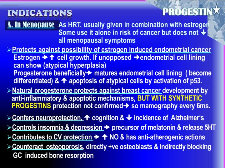 Estrogen and progestin combinations (pills or tablets)