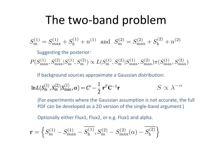 The two-band problem
