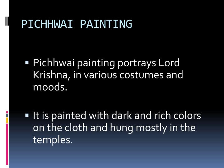 PICHHWAI PAINTING