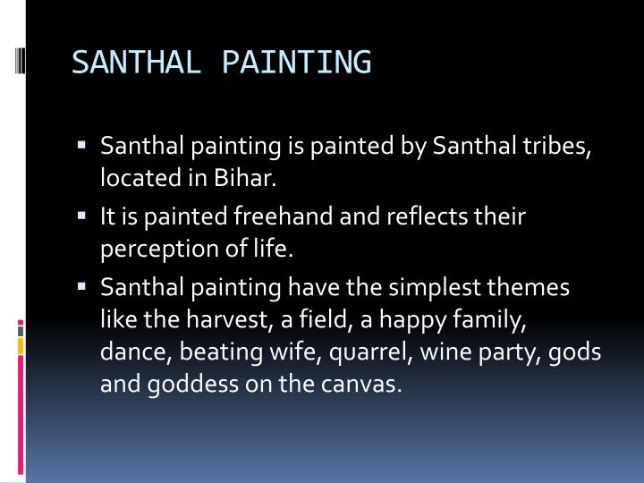 SANTHAL PAINTING