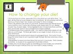 how to change your diet1