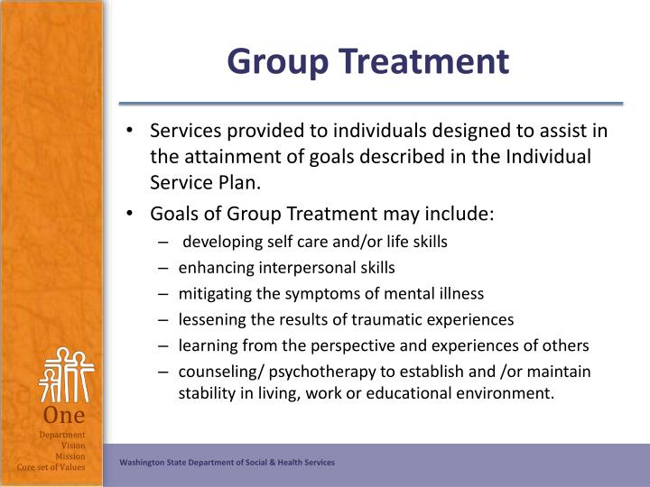 Group Treatment