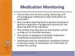 medication monitoring