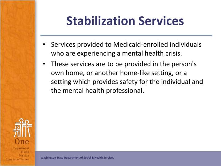 Stabilization Services