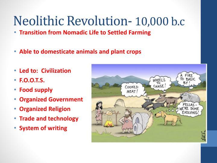 Neolithic Revolution-