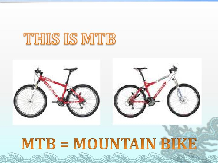 THIS IS MTB