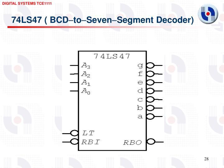 74LS47 ( BCD