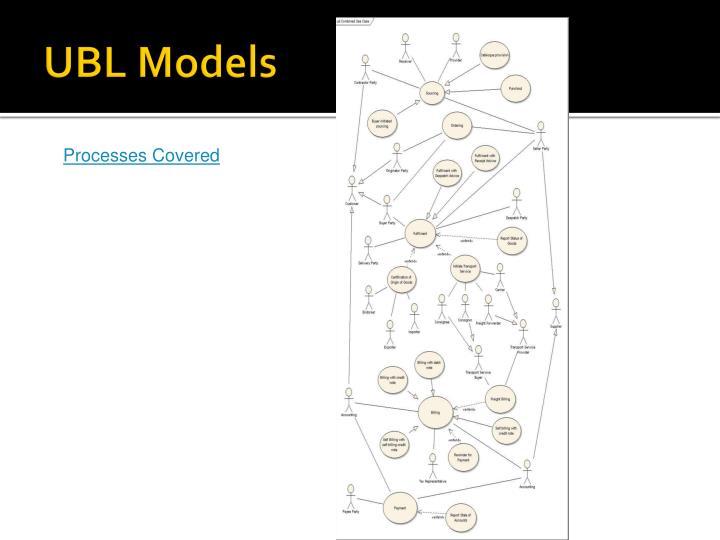 UBL Models