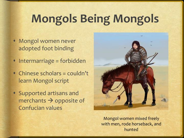 Mongols Being Mongols