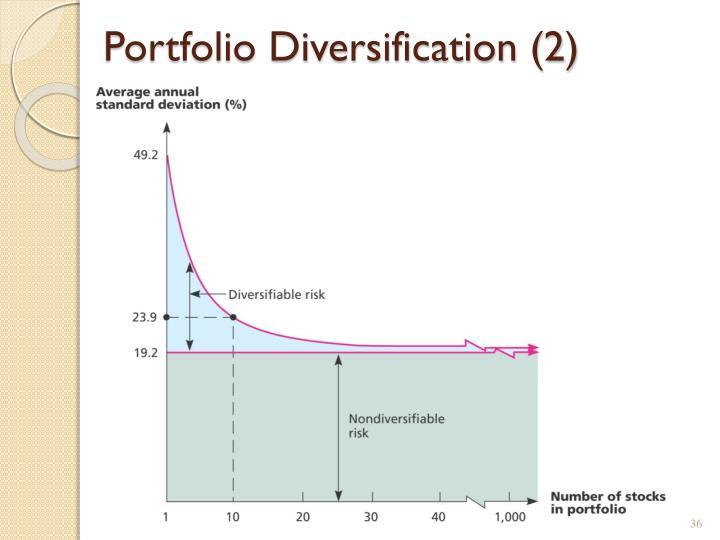 Portfolio Diversification (2)