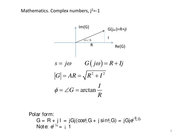 Mathematics. Complex numbers,