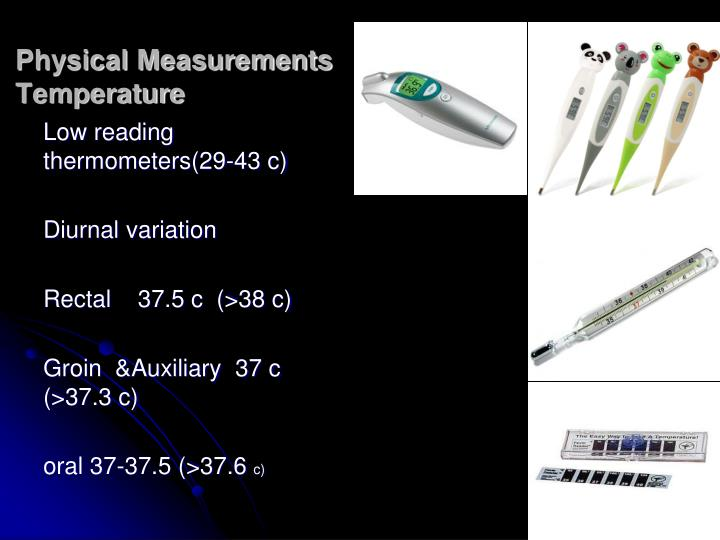 Physical Measurements