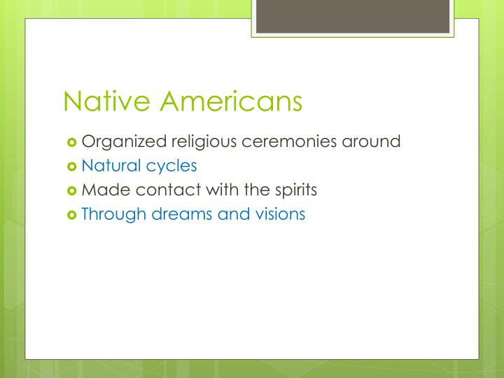 Native americans1