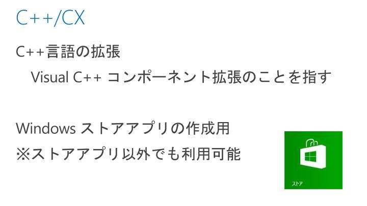 C++/CX